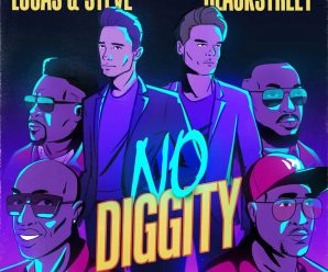 LUCAS & STEVE team with BLACKSTREET for dance remake of 'NO DIGGITY'