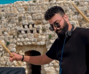 Jad Halal Teams Up With Cafe De Anatolia For A DJ Live Set Shot In Citadel Smar Jbeil, Lebanon